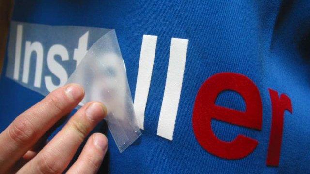 T-shirt-Exemple de Flocage-flocage a chaud