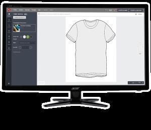 Stick'n shirt logiciel de création