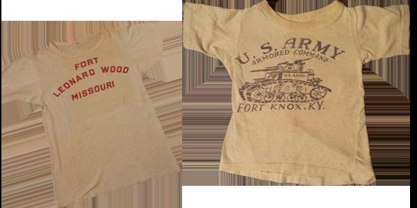 T-shirt Armé Américaine des années 1940.vêtement américain emblématique